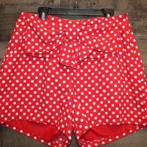 LC Lauren Conrad Disney collection shorts NWT